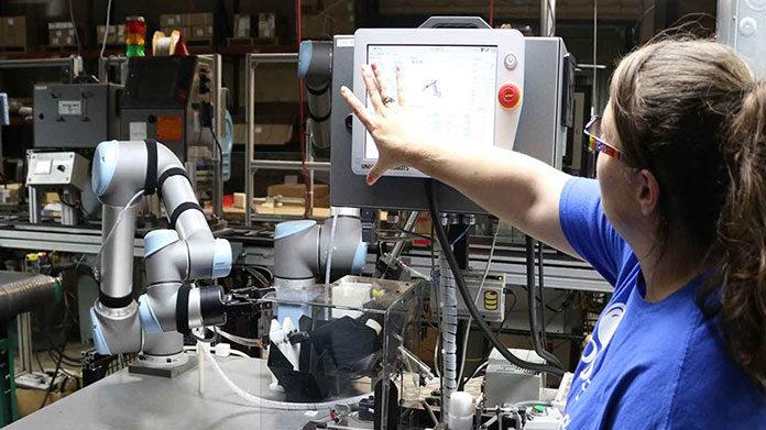 Roboty przemysłowe - zastosowanie